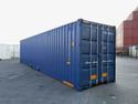 Container 40' HC Double Door (HC = Höhe 2,9m, zwei Stirntüren)- mehr Informationen